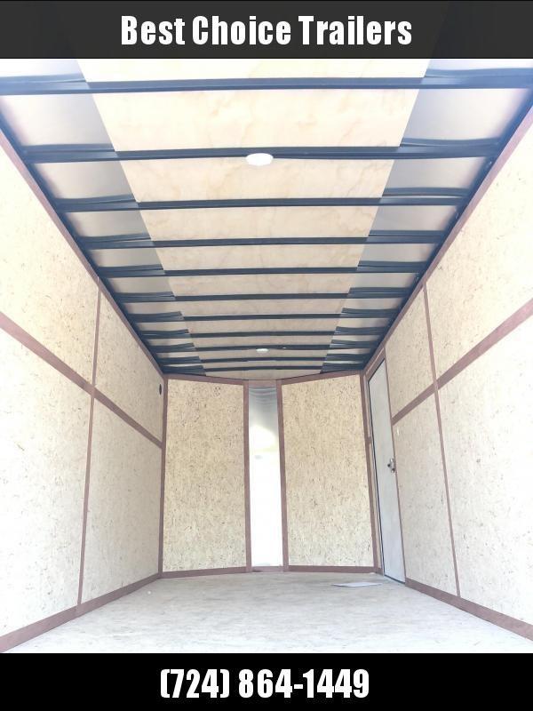 2020 Wells Cargo 7x14' Road Force Enclosed Cargo Trailer 7000# GVW * SILVER * RAMP DOOR * V-NOSE * .030 * 1 PC ALUM ROOF * 7' HEIGHT UTV PKG* TUBE STUDS * SCREWLESS * ARMOR GUARD * 7' HEIGHT UTV PKG