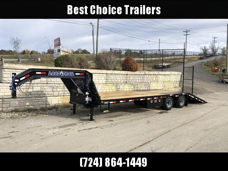 2020 Load Trail 102x30' Gooseneck Deckover Hydraulic Dovetail Trailer 22000# * GL0230102 * DEXTER'S * HDSS SUSPENSION * WINCH PLATE * BLACKWOOD * 2-3-2 * ZINC PRIMER * CLEARANCE