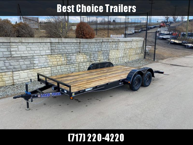 "2020 Load Trail 7x18' Car Hauler Trailer 7000# GVW * CP8318032 * DEXTERS * POWDER PRIMER * 2-3-2 WARRANTY * 5"" TONGUE AND FRAME"