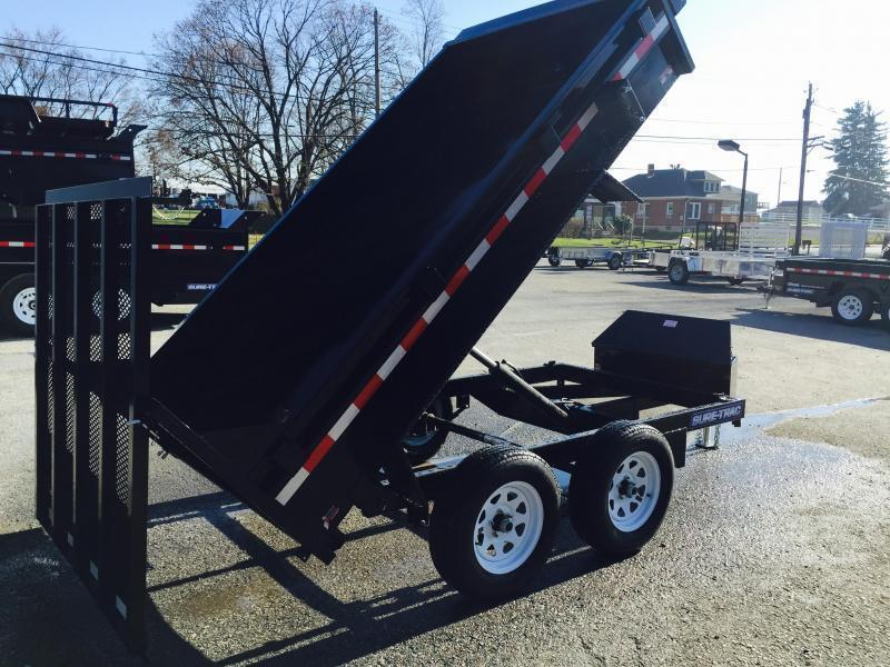 2020 Sure-Trac 5x10' Dump Trailer 7000# GVW - LANDSCAPE GATE