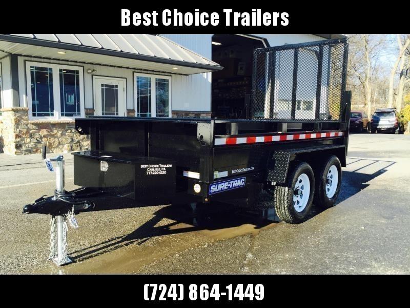 2020 Sure-Trac 5x10' Dump Trailer 7000# GVW - LANDSCAPE GATE * CLEARANCE