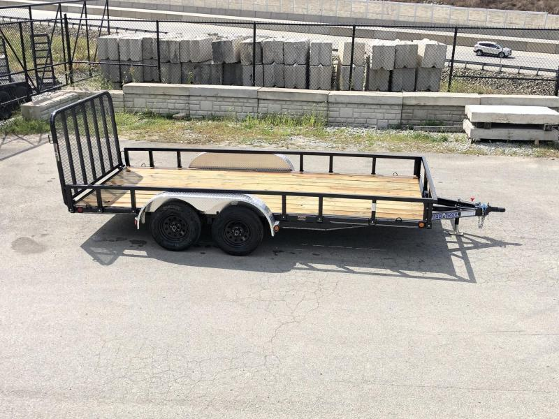 2020 Load Trail 7x14' Commercial Utility Landscape Trailer * XT8314032 * REMOVABLE SIDES * CHANNEL FRAME * TUBE GATE * ALUMINUM FENDERS * CLEARANCE