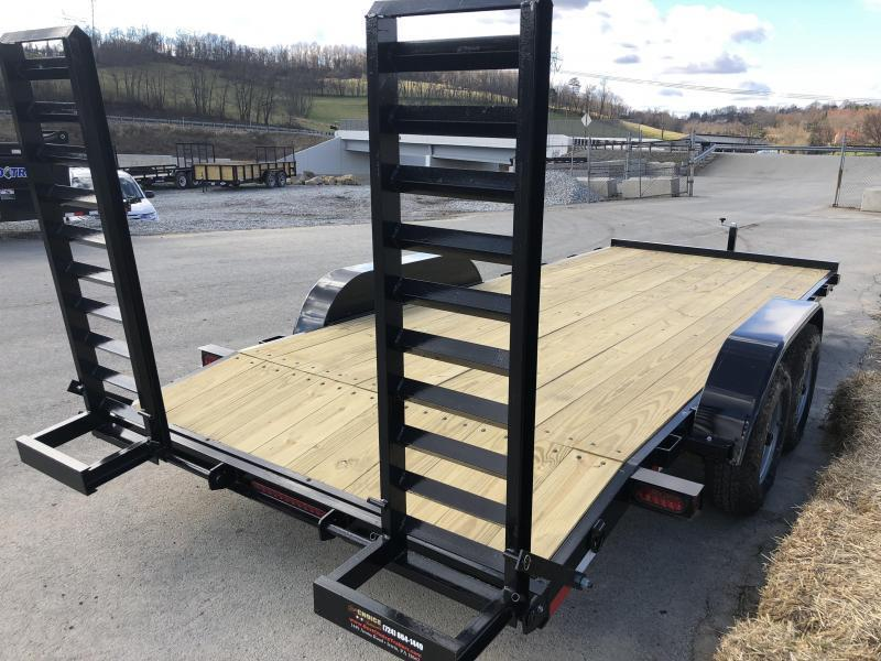 2020 AMO 7x18' Equipment Trailer 9990# GVW