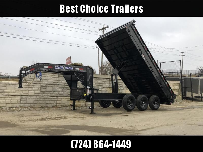 2019 Load Trail  Dump Trailer * GZ9616073 * I-BEAM FRAME * TARP * SCISSOR * FOLD DOWN SIDES * 3-WAY GATE * CLEARANCE