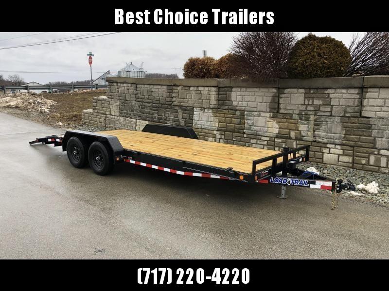 2019 Load Trail 7x20' Car Hauler Trailer 9990# GVW * CH8320052 * DEXTERS * POWDER PRIMER * BLACKOUT * 2-3-2 WARRANTY * CLEARANCE