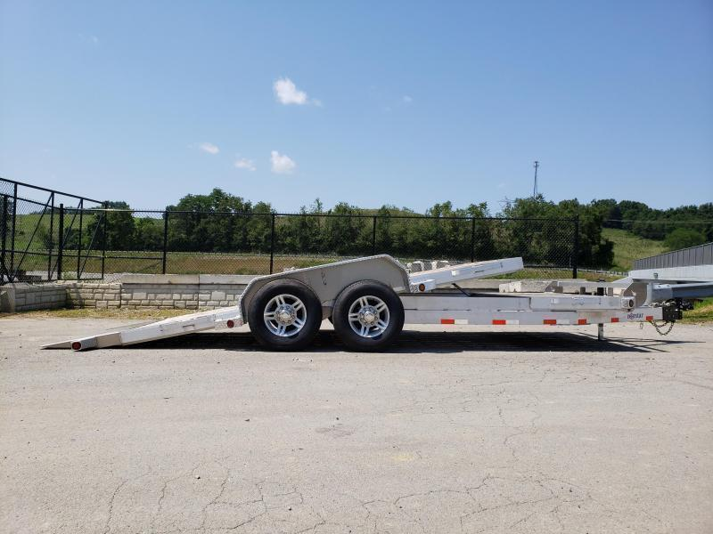 2019 Ironbull 7x16+4 Aluminum Gravity Tilt Equipment Trailer 14000# * ALUMINUM * TORSION * STOP VALVE * ALUMINUM WHEELS * CLEARANCE