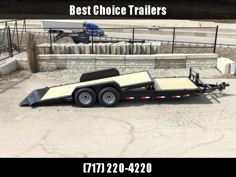 2019 Ironbull 7x16+4 Gravity Tilt Equipment Trailer 14000# TORSION * STOP VALVE * CLEARANCE