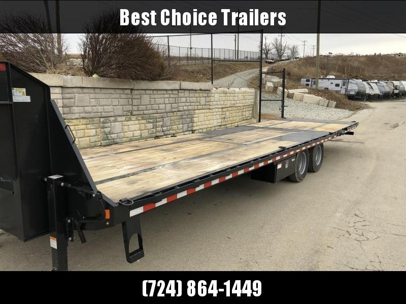 """2020 Sure-Trac 102x22+10' Gooseneck Hydraulic Dovetail Deckover Trailer 22500# GVW * 10' DOVETAIL * DUAL 5"""" LIFT CYLINDERS * PIERCED FRAME * CROSS TRAC BRACING * RUBRAIL/STAKE POCKETS/PIPE SPOOLS/10 D-RINGS * LOW LOAD ANGLE!!"""
