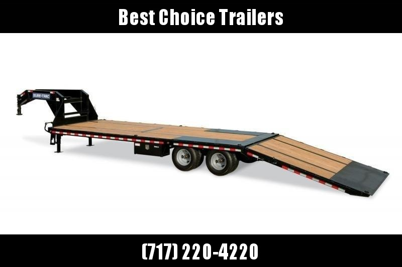 2020 Sure-Trac 102x22+10' Gooseneck Hydraulic Dovetail Deckover Trailer 22500# GVW