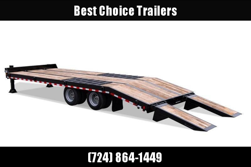 2020 Sure Trac  102x25' Air Brake Beavertail Deckover Trailer 49000# GVW * ST102205ABDO2A-B-490