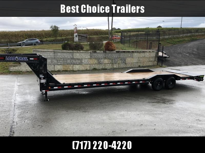 "2020 Load Trail 102x34' Gooseneck Car Hauler Trailer 14000# * 102"" DECK * DRIVE OVER FENDERS * SLIDE IN RAMPS * WINCH PLATE * RUBRAIL"