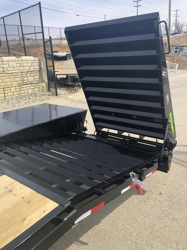 "2019 Load Trail 102x25' Gooseneck Beavertail Deckover Flatbed 14000# Trailer * GH0225072 * MAX Ramps * Dexter Axles * 12"" I-Beam * Zinc Primer * Full toolbox/Dual jacks * CLEARANCE"