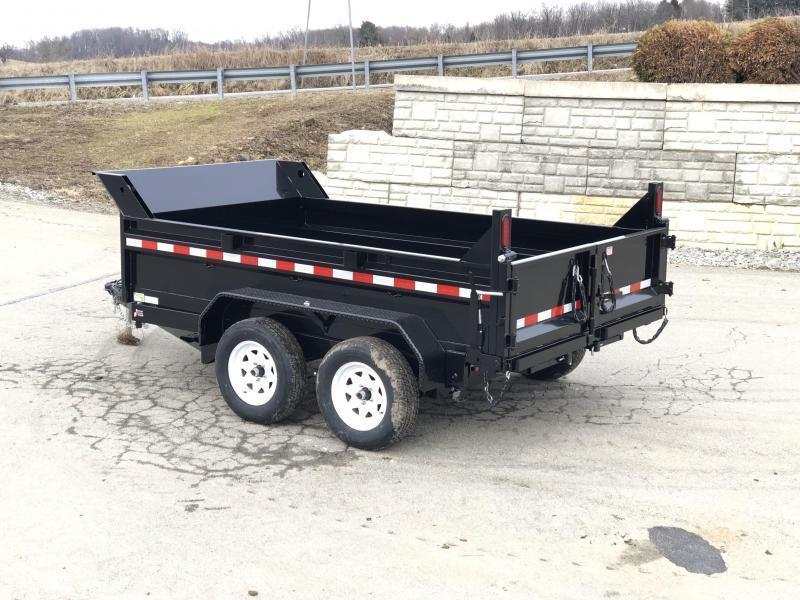 2020 Sure-Trac 6x10' LowPro Dump Trailer 7000# GVW * RAMPS * COMBO GATE * CLEARANCE