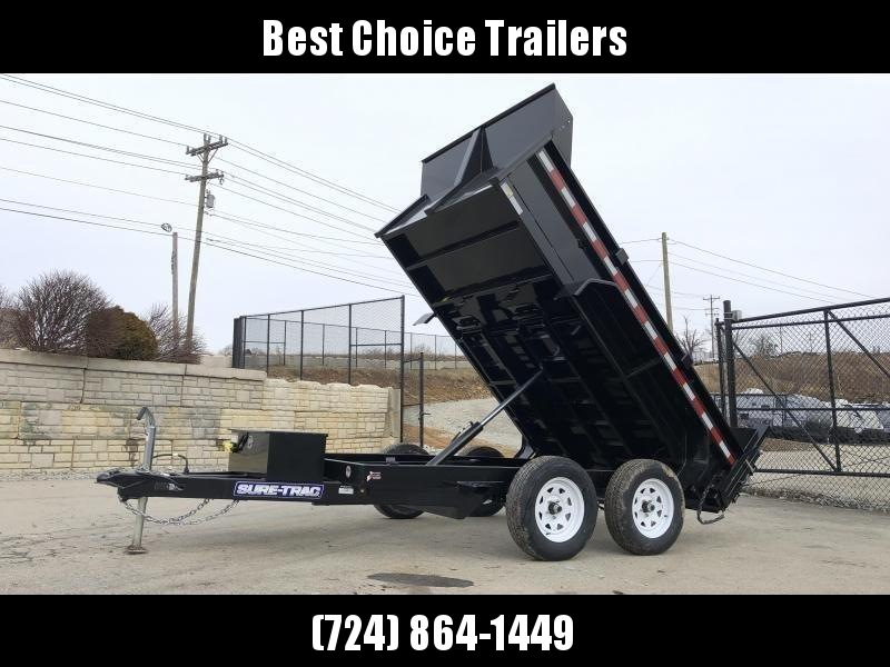 2020 Sure-Trac 6x10' LowPro Dump Trailer 7000# GVW * RAMPS * COMBO GATE * CLEARANCE