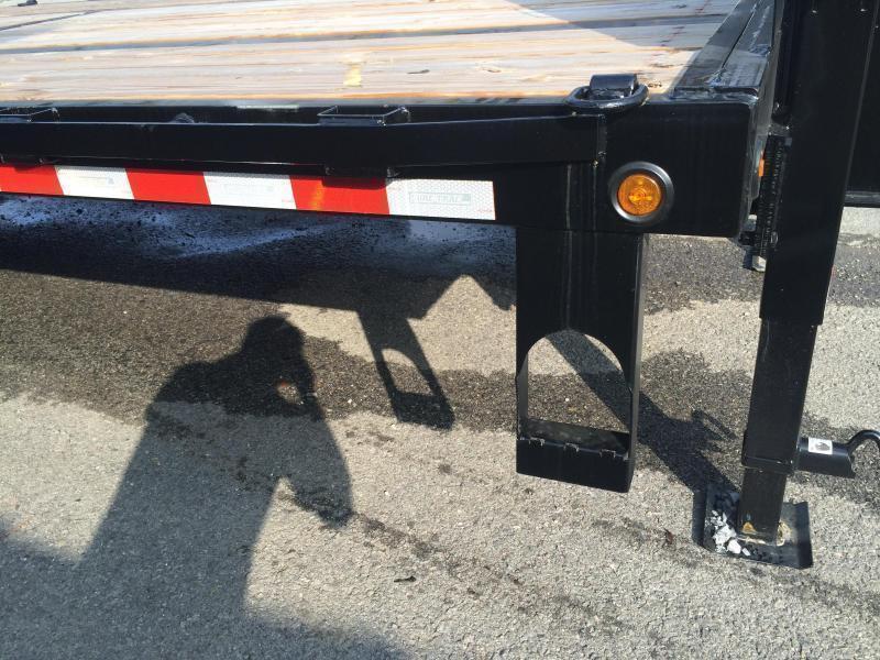 2020 Sure-Trac 102x20+5 22500# Gooseneck Beavertail Deckover Trailer Pierced Frame