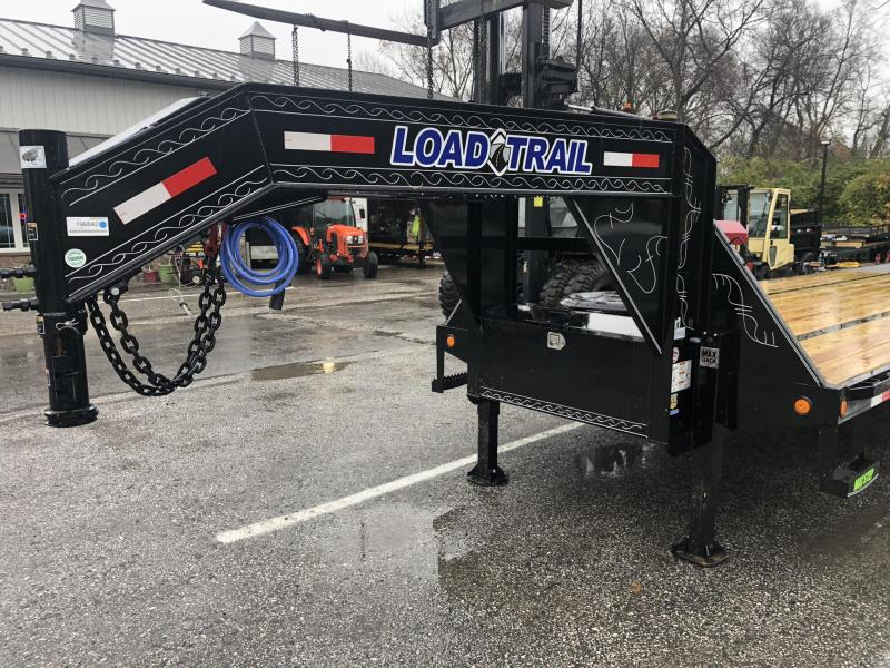 2020 Load Trail 102x40' Gooseneck Deckover Hydraulic Dovetail Trailer 25900# * 12K DEXTER EOH DISC BRAKES * HYDRAULIC DOVETAIL * DUAL HYDRAULIC JACKS * HDSS SUSPENSION * UNDER FRAME & PIPE BRIDGE