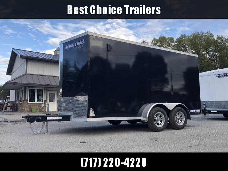 2020 Sure-Trac 7x14' Enclosed Cargo Trailer 7000# GVW * BLACK