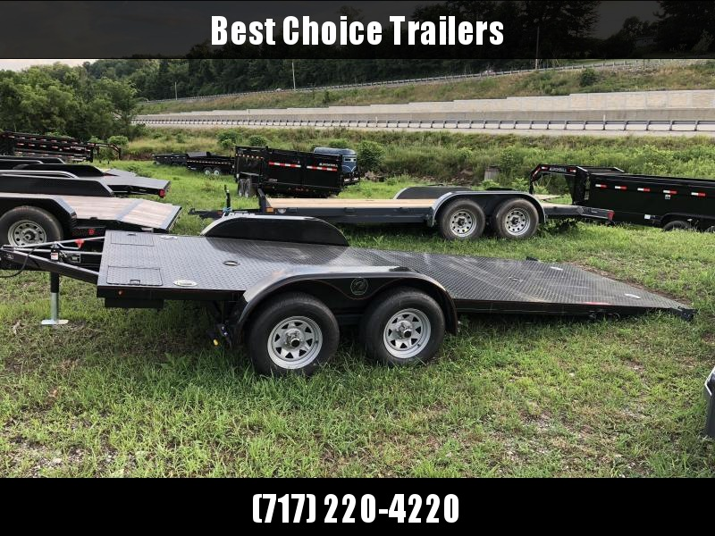 2019 Kwik Load 7x20' Texas Rollback Car Trailer 7000# GVW