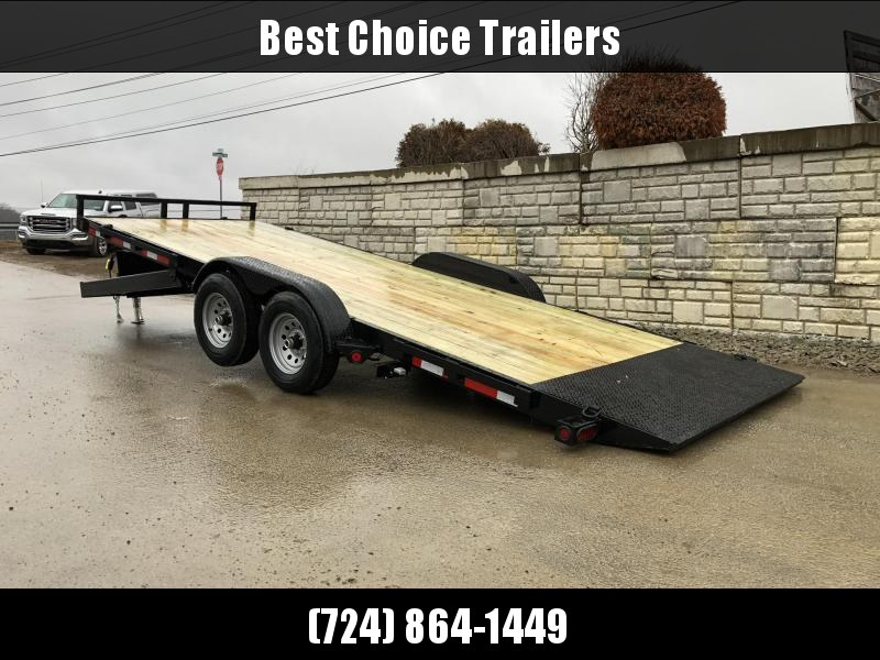 "2021 QSA 7x20' Power Tilt Equipment Trailer 9850# GVW * RUBRAIL * POWER TILT * WINCH PLATE * 6"" TONGUE AND FRAME * DROP LEG JACK * ADJUSTABLE COUPLER * REMOVABLE FENDERS"
