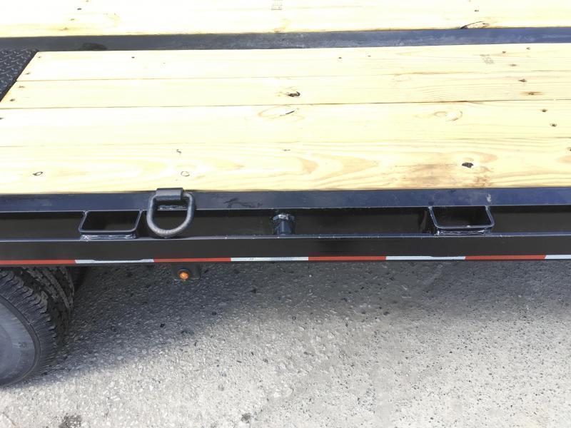 2019 Sure-Trac 102x20+5' HD LowPro Beavertail Deckover 22500# GVW