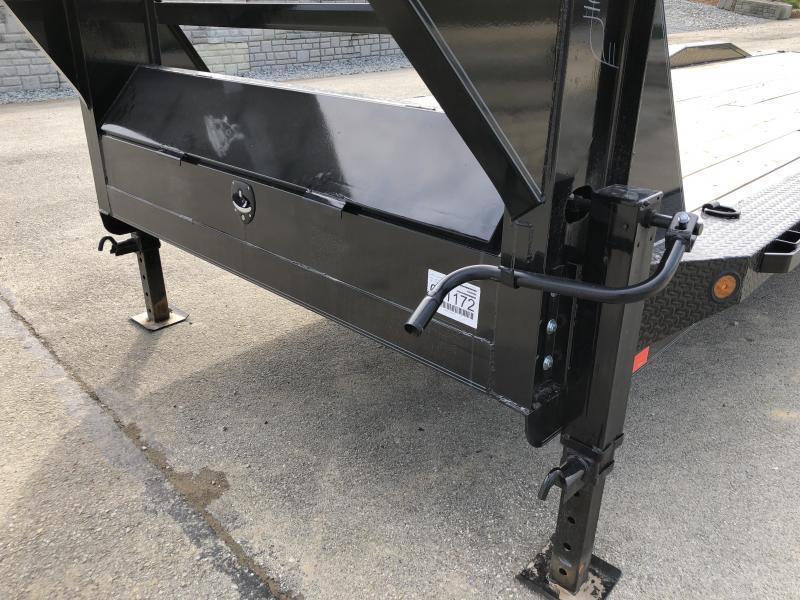 "2019 Ironbull 102x34' Gooseneck 2-Car Hauler Trailer 14000# GVW * OVERWIDTH RAMPS * 102"" DECK * DRIVE OVER FENDERS * BUGGY HAULER * DUAL JACKS * TOOLBOX"