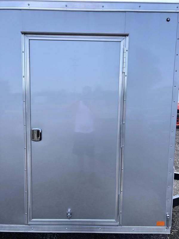 2020 Sure-Trac 6x12' STW Enclosed Cargo Trailer 2990# GVW * SILVER * RAMP DOOR