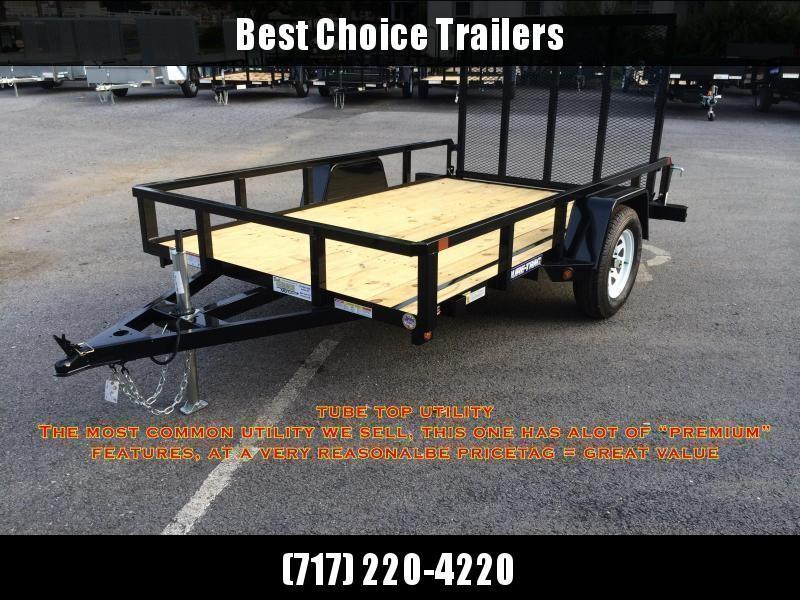 2020 Sure-Trac 7x14' Tube Top Utility Trailer 2990# GVW * ATV RAMPS
