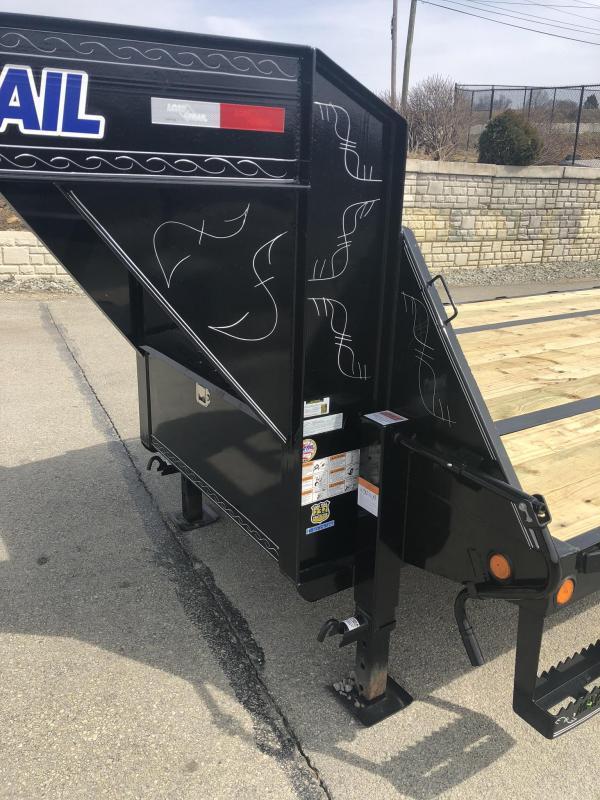 2019 Load Trail 102x34' Gooseneck Beavertail Deckover Flatbed 22000# Trailer * GH0234102 * MAX Ramps * HDSS Suspension * Dexter Axles *