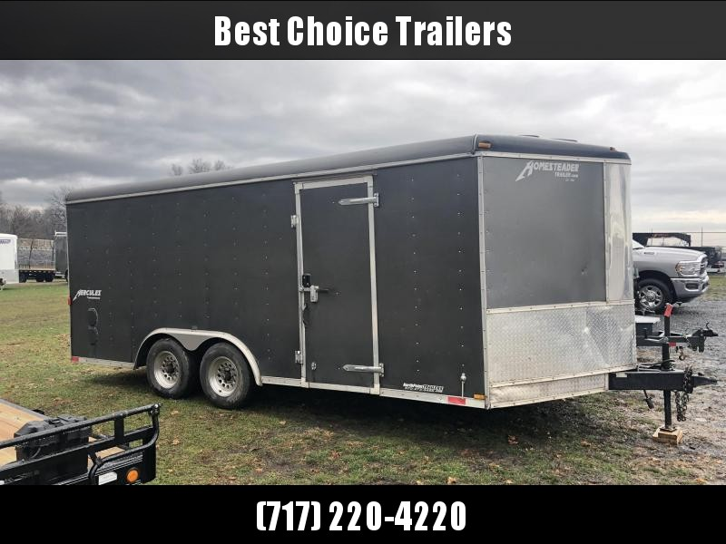 2017 Homesteader Trade In Enclosed Cargo Trailer