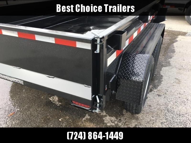 2020 Sure-Trac 5x10 Low Profile Homeowner Dump Trailer 7000# GVW