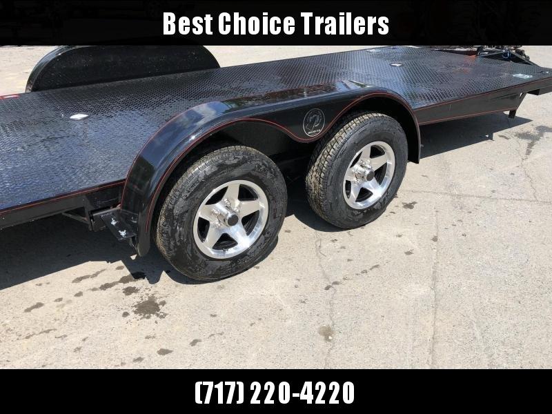 2019 Kwik Load 7x18' Texas Rollback Car Trailer 7000# GVW * ALUMINUM WHEELS * LOW LOAD ANGLE * STEEL FLOOR * TORSION