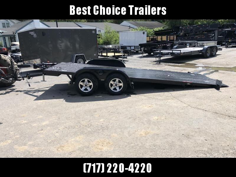 2019 Kwik Load 7x18' Texas Rollback Car Trailer 7000# GVW * ALUMINUM WHEELS * LOW LOAD ANGLE * STEEL FLOOR * TORSION * CLEARANCE