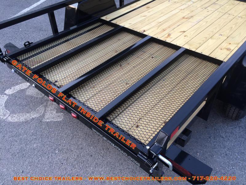 2020 Sure-Trac 5x10' Angle Iron Utility Landscape Trailer 2990# GVW