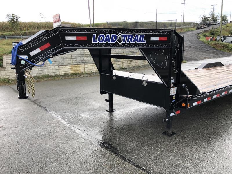 "2020 Load Trail 102x32' Gooseneck Car Hauler Trailer 14000# * 102"" DECK * DRIVE OVER FENDERS * FULL WIDTH RAMPS * WINCH PLATE * RUBRAIL"