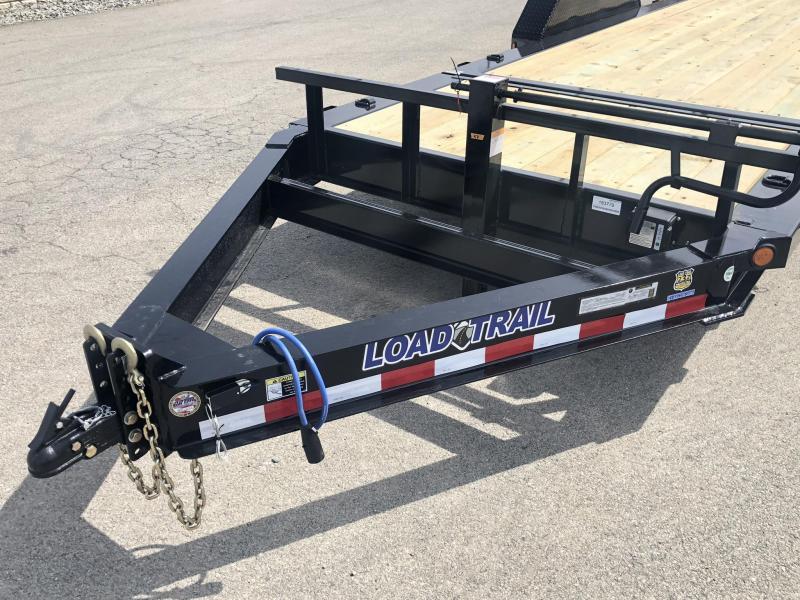 "2019 Load Trail 7x20' Gravity Tilt Equipment Trailer 14000# * TH8320072 * 8"" I-BEAM FRAME * TORSION * STOP VALUE * POWDER PRIMER * DEXTER'S * 2-3-2 WARRANTY * CLEARANCE"