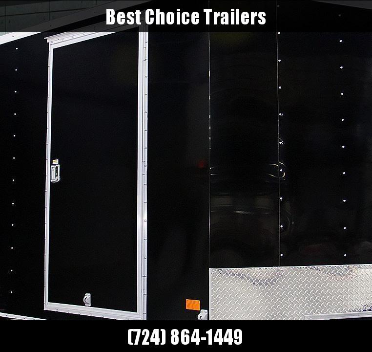 """2020 Wells Cargo 6x12' Fastrac Enclosed Cargo Trailer 2990# GVW * WHITE EXTERIOR * RAMP DOOR * V-NOSE * 1 PC ROOF * 16"""" O.C. WALLS * BULLET LED'S"""