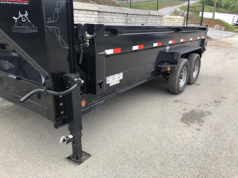 NEW Ironbull 7x16' Gooseneck Dump Trailer 14000# GVW * TARP KIT * SCISSOR * CLEARANCE
