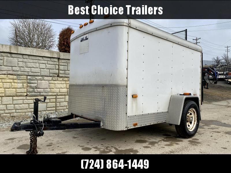USED 2003 Cargo Pro Trailers 5x8' Enclosed Cargo Trailer 2990# GVW