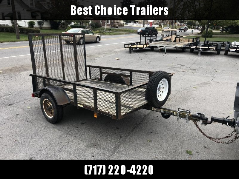 2007 Carry-On Trade In Utility Trailer