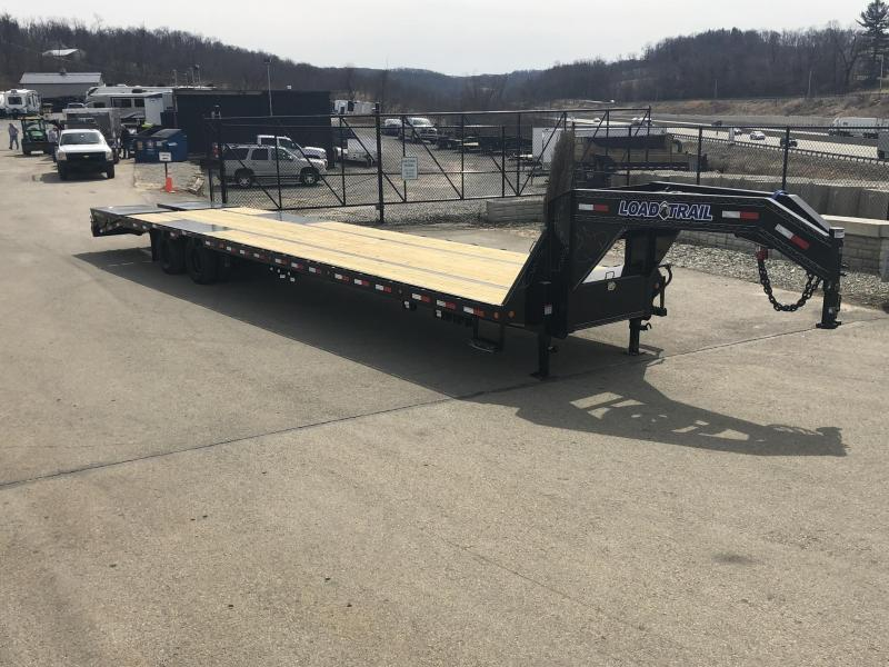 2019 Load Trail 102x25' Gooseneck Beavertail Deckover Flatbed 22000# Trailer * GH0225102 * MAX Ramps * HDSS Suspension * Dexter Axles * Winch plate * CLEARANCE