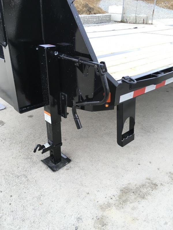 "2020 Sure-Trac 102x30' Gooseneck Beavertail Deckover Trailer 22500# GVW * DEXTER AXLES * FLIPOVER RAMPS + SPRING ASSIST * 12"" I-BEAM * PIERCED FRAME * RUBRAIL/STAKE POCKETS/PIPE SPOOLS/10 D-RINGS * CROSS TRAC BRACING * HD BEAVERTAIL"