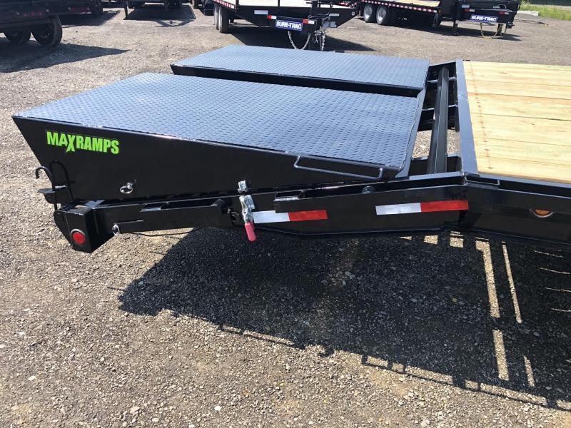 "2020 Load Trail 102x30' Gooseneck Beavertail Deckover Flatbed 21000# Trailer * GH0230073 * MAX Ramps * Dexter Axles * 12"" I-Beam * Zinc Primer * Full toolbox/Dual jacks"