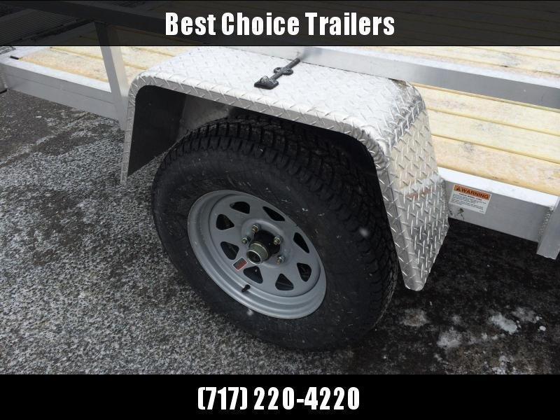 2020 QSA 6x10' Simplicity Aluminum Utility Trailer 2990# GVW * CLEARANCE