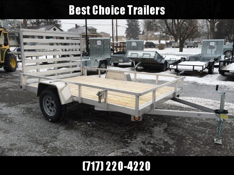 2020 QSA 6x10' Simplicity Aluminum Utility Trailer 2990# GVW