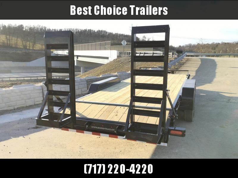 "2020 Sure-Trac Implement 7'x20' 16000# Equipment Trailer * 8K AXLES * 17.5"" RUBBER * 8"" TONGUE"