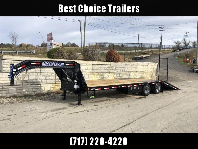 2020 Load Trail 102x30' Gooseneck Deckover Hydraulic Dovetail Trailer 22000# * GL0230102 * HYDRAULIC JACKS * DEXTER'S * HDSS SUSPENSION * WINCH PLATE * BLACKWOOD * 2-3-2 * ZINC PRIMER * CLEARANCE