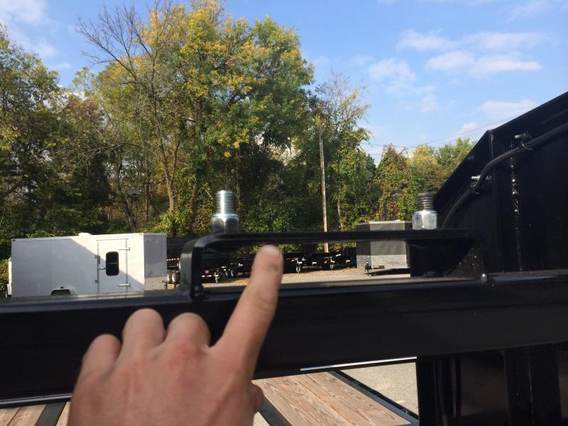 USED 2018 Sure-Trac 102x20+5 22500# Gooseneck Beavertail Deckover Trailer Pierced Frame