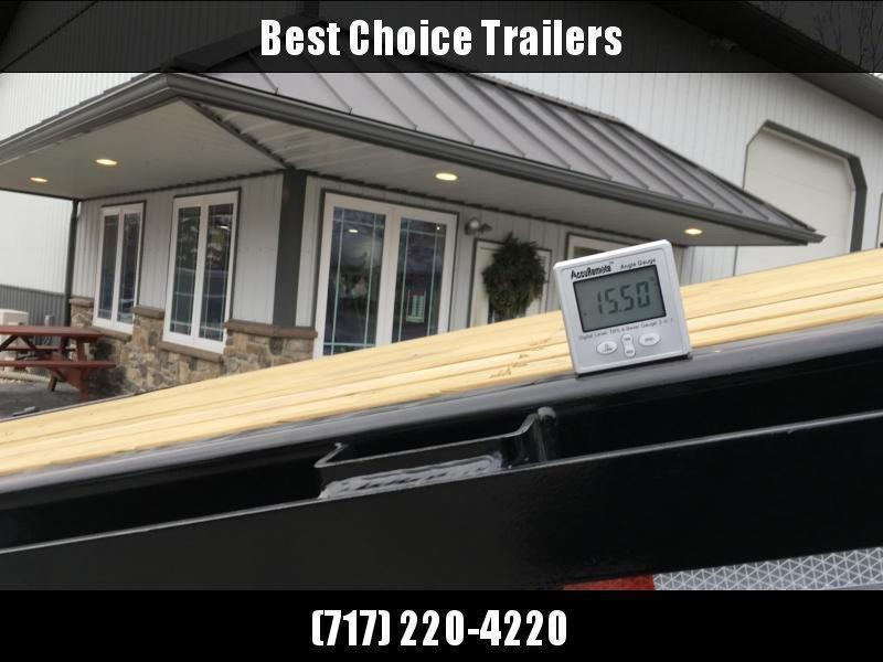 2020 Sure-Trac 102x22' Power Tilt Deckover 15000# GVW * WINCH PLATE * OAK DECK