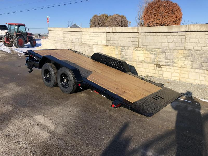 "2020 Load Trail 7x16' Gravity Tilt Equipment Trailer 14000# * TH8316072 * 8"" I-BEAM FRAME * TORSION * STOP VALUE * POWDER PRIMER * DEXTER'S * 2-3-2 WARRANTY"