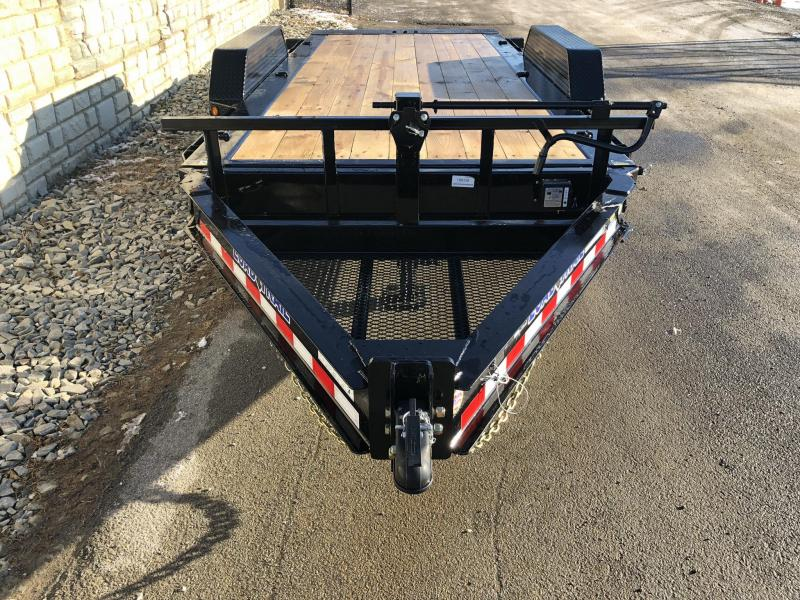 "2020 Load Trail 7x16' Gravity Tilt Equipment Trailer 14000# * TH8316072 * 8"" I-BEAM FRAME * TORSION * STOP VALUE * POWDER PRIMER * DEXTER'S * 2-3-2 WARRANTY"